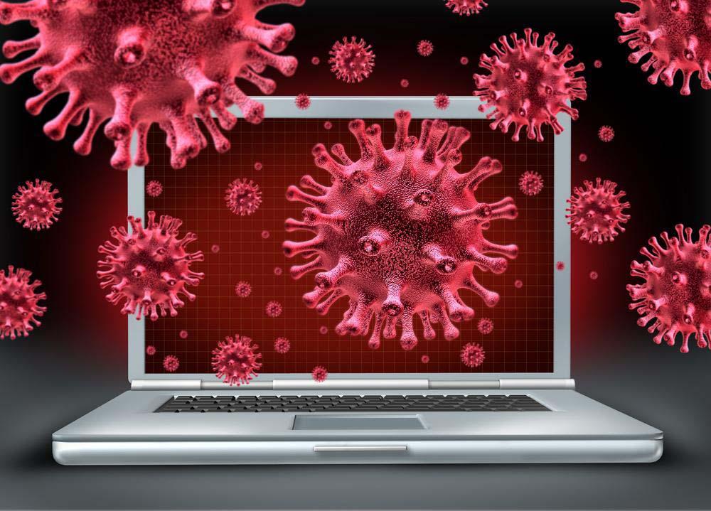 Компьютерный вирус картинка на весь экран